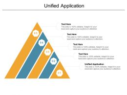 Unified Application Ppt Powerpoint Presentation Summary Aids Cpb