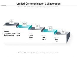 Unified Communication Collaboration Ppt Powerpoint Presentation Styles Slide Cpb