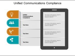 Unified Communications Compliance Ppt Powerpoint Presentation Outline Show Cpb