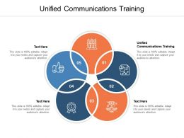Unified Communications Training Ppt Powerpoint Inspiration Shapes Cpb