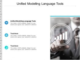 Unified Modelling Language Tools Ppt Powerpoint Presentation Gallery Slideshow Cpb