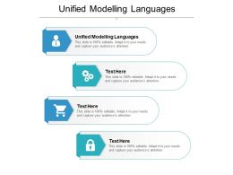 Unified Modelling Languages Ppt Powerpoint Presentation Infographics Mockup Cpb