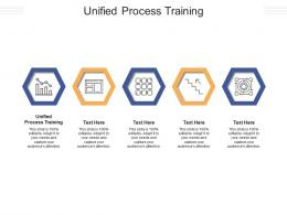 Unified Process Training Ppt Powerpoint Presentation Styles Format Cpb