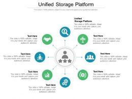 Unified Storage Platform Ppt Powerpoint Presentation Slides Demonstration Cpb