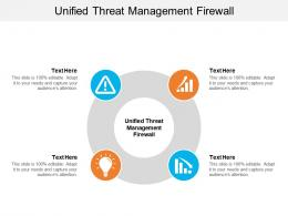 Unified Threat Management Firewall Ppt Powerpoint Presentation Model Slide Download Cpb