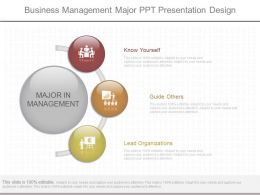 Unique Business Management Major Ppt Presentation Design