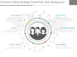 Unique Business Selling Strategy Powerpoint Slide Background
