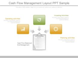Unique Cash Flow Management Layout Ppt Sample