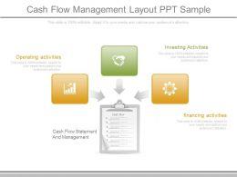 Unique Cash Flow Management Layout Ppt Sample