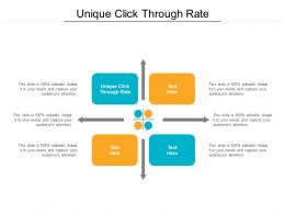 Unique Click Through Rate Ppt Powerpoint Presentation Outline Sample Cpb