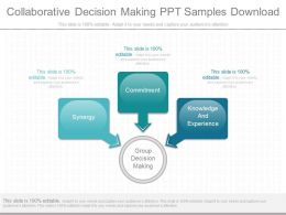 Unique Collaborative Decision Making Ppt Samples Download