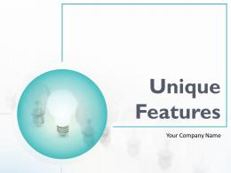 Unique Features Powerpoint Presentation Slides