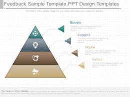Unique Feedback Sample Template Ppt Design Templates