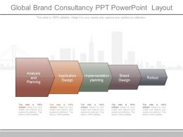 Unique Global Brand Consultancy Ppt Powerpoint Layout