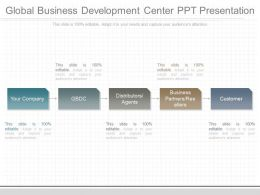Unique Global Business Development Center Ppt Presentation
