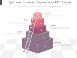 Unique High Level Business Requirements Ppt Images