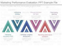 Unique Marketing Performance Evaluation Ppt Example File