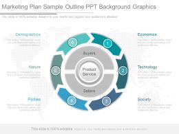 Unique Marketing Plan Sample Outline Ppt Background Graphics