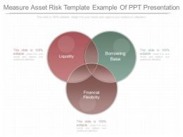 Unique Measure Asset Risk Template Example Of Ppt Presentation
