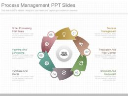 Unique Process Management Ppt Slides