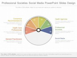 Unique Professional Societies Social Media Powerpoint Slides Design