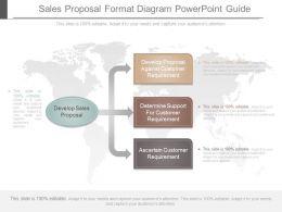 Unique Sales Proposal Format Diagram Powerpoint Guide