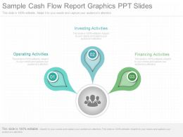 Unique Sample Cash Flow Report Graphics Ppt Slides