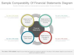 Unique Sample Comparability Of Financial Statements Diagram