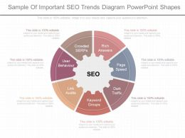 Unique Sample Of Important Seo Trends Diagram Powerpoint Shapes