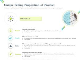 Unique Selling Proposition Of Product Mainly Uses Ppt Powerpoint Presentation Slides Mockup