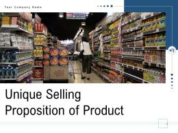 Unique Selling Proposition Of Product Powerpoint Presentation Slides