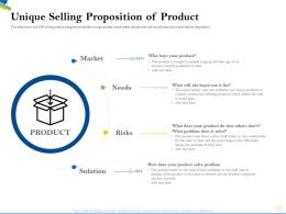 Unique Selling Proposition Of Product Stand Apart Ppt Powerpoint Presentation Inspiration Files