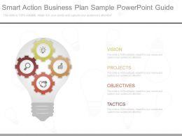 unique_smart_action_business_plan_sample_powerpoint_guide_Slide01
