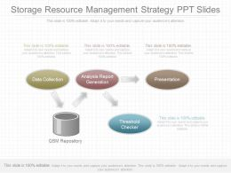 Unique Storage Resource Management Strategy Ppt Slides