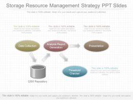Unique Storage Resource Management Strategy Ppt Slides