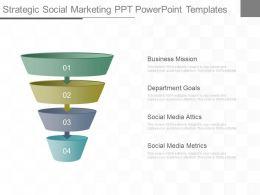 Unique Strategic Social Marketing Ppt Powerpoint Templates
