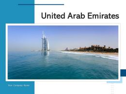 United Arab Emirates Architectural Landmark Destination National Currency