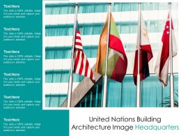 United Nations Building Architecture Image Headquarters