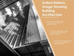United Nations Image Showing Building Architecture