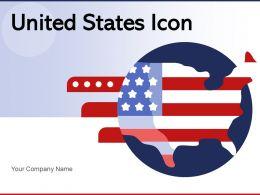United States Icon Background Circular Design Liberty