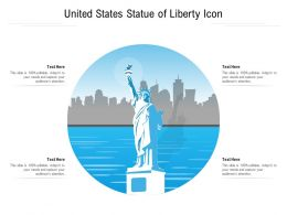 United States Statue Of Liberty Icon