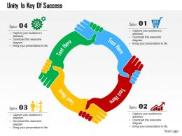 unity_is_key_of_success_flat_powerpoint_design_Slide01