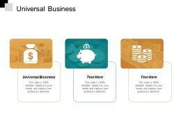 Universal Business Ppt Slides Images Cpb
