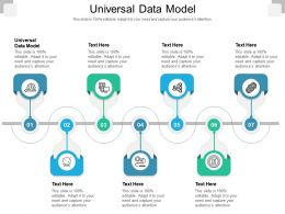 Universal Data Model Ppt Powerpoint Presentation Summary Picture Cpb