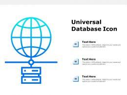 Universal Database Icon