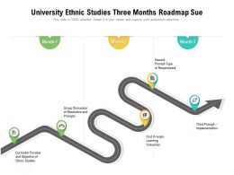 University Ethnic Studies Three Months Roadmap Sue