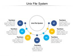 Unix File System Ppt Powerpoint Presentation Ideas Example Introduction Cpb