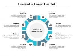 Unlevered Vs Levered Free Cash Ppt Powerpoint Presentation File Visual Aids Cpb