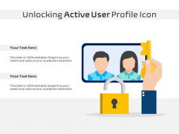Unlocking Active User Profile Icon