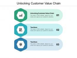 Unlocking Customer Value Chain Ppt Powerpoint Presentation Inspiration Skills Cpb